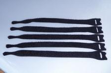 Klitterband kabel binder zwart  12 stuks