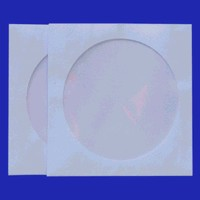 4700  Kleurcodering envelop open wit zonder klep.