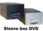 SLEEVE BOX dvd 125 zwart